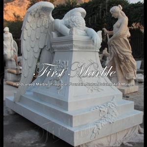 Marble Stone Granite Memorial Metrix Carrara Tombstone Mem-505 pictures & photos