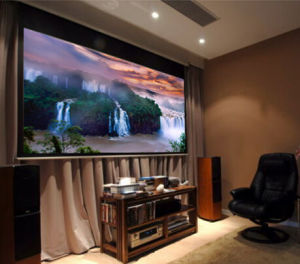 1: 1 4: 3 16: 9 Matte White Tripod Projection Screen Projector pictures & photos