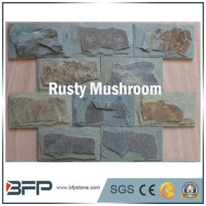 Natural Granite/ Slate Mushroom Tiles for Landscaping pictures & photos