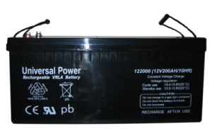 Solar AGM Battery Deep Cycle Lead Acid Battery 12V 200ah More Cycles 5 Years Warranty
