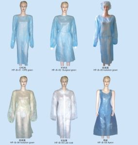 Disposable Medical Coverall Lab Coat pictures & photos