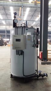Lhs Vertical Oil (gas) Fired Steam Boiler on Hot Sale! pictures & photos