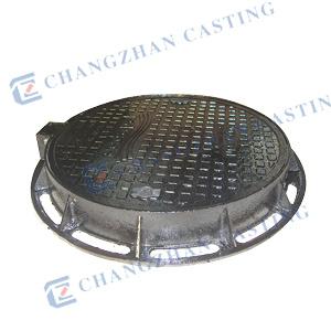 B125 En124 Ductile Iron Manhole Cover for Car Parks or Car Parking Decks