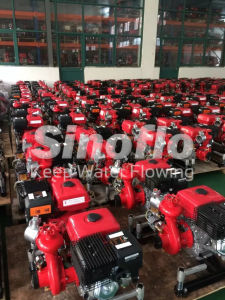 9HP Portable Gasoline Engine Vacuum Priming Fire Water Pump pictures & photos