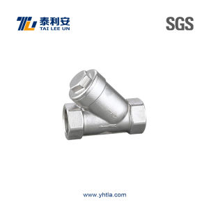 High Quality Stainless Steel Inline Strainer (T1082) pictures & photos