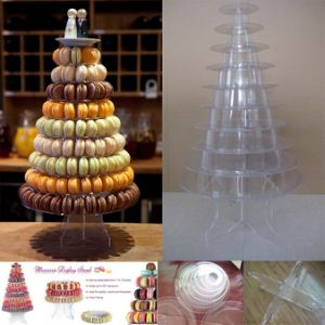 Macaron Tower Type Blister Packaging