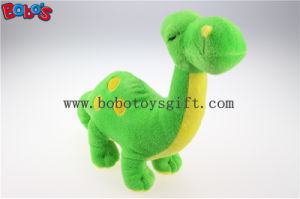 Cuddly Stuffed Green Baby Dinosaur Animal with Embroidery Bodybos1195 pictures & photos