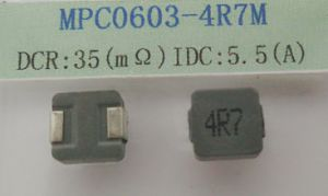 Power Inductor 4.7uh 20%, Temperature Rise Current~5.5AMP, Size: 6.8*6.8*3.0mm pictures & photos