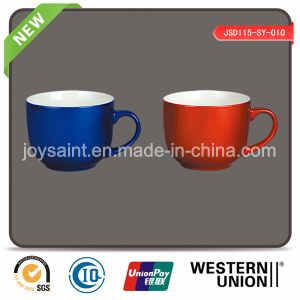Colorful Glazed Coffee Mugs with Fashion Shape (JSD115-SY-010)