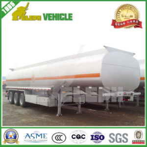 40cbm 3 Axles Fuel/Oil /Water Tanker Trailer