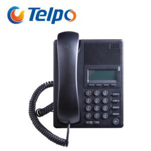 Factory Supplied 2 SIP Lines Internet IP Skype Desktop Phone pictures & photos