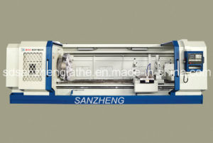Price of Flat Bed CNC Lathe Machine (Qk1327)