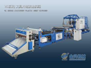 Wj120-1300 Plastic Sheet Extruder for PP Stationary Products pictures & photos