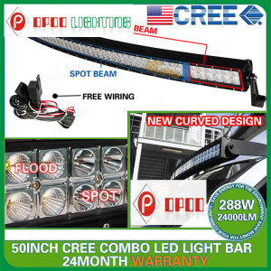 50inch 288W Offroad Curved LED Light Bar (OP-DC3288X)