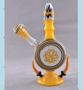 Newest Design 9inch Wigwag Multi Color Glass Smoking Water Pipe pictures & photos
