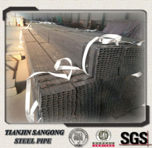 Tianjin Factory of Black Square Pipe pictures & photos