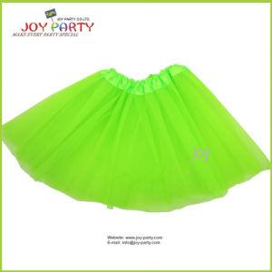 Light Green Party Skirt Partywear Tutu Ballet Pettiskirt pictures & photos