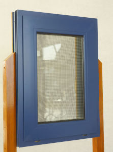 Anti-Theft Aluminum Composite Wood Windows, Fly Screen Combined Together