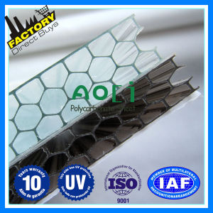 Manufacturer Polycarbonate Honeycomb Hollow Sheet for Greenhouse Roofing pictures & photos