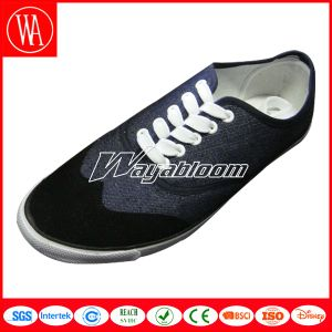Summer Lace-up Comfort Canvas Shoes for Men pictures & photos
