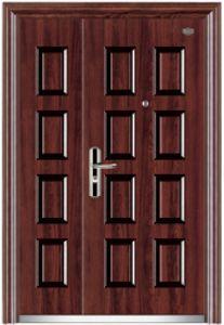 Entrace Steel Security Door for Villa pictures & photos