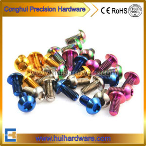 Titanium Gr5 Torx Pan Head Screw, Torx Without Pin Screw Machine Screw pictures & photos