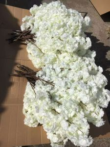 High Quality Artificial Flowers of Cherry Spray Gu818183044 pictures & photos