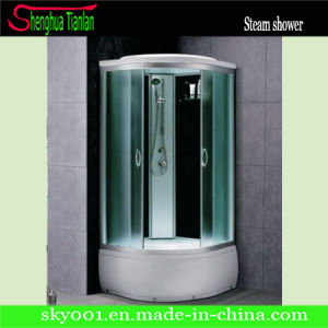 New High ABS Tray Frosted Glass Modular Steam Shower Combo (TL-8842) pictures & photos