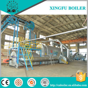 Fully Continuous Waste Tyre Heating Hot Air Circulation Pyrolysis Plant pictures & photos