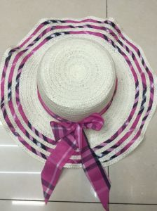 Sun Straw Paper Hot Selling Promotional Topee Glacier Cap Sunbonnet Hat GS122305 pictures & photos