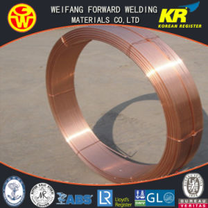 H08A Solid Submerged Arc Welding Wire EL12 of Golden Bridge Welding Quality ISO9001 pictures & photos