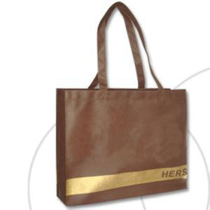 Custom Printed Non-Woven Shopping Bags for Garments (FLN-9063) pictures & photos
