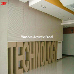 Wooden Acoustic Ceiling Wall Panel Acoustic Panel Decoration Panel pictures & photos