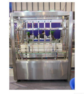 1L-5L Plastic/Glass Barrel/Drum/Bucket Filling and Capping/Screw Sealing Machine pictures & photos