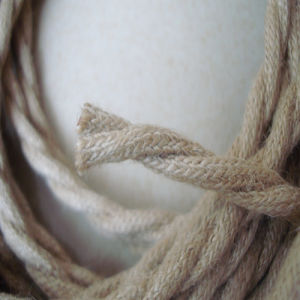 Texitle Linen Fabric Twisted Wire pictures & photos