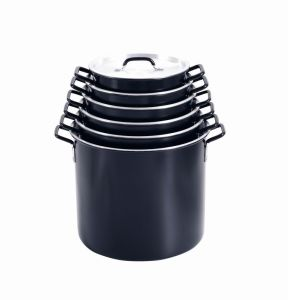 Cookware / Alu. Stock Pot (MY34008B-MY34032B) pictures & photos