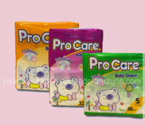 Soft Breathable & High Absorbency Disposable Baby Diaper pictures & photos