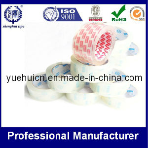 with Various Sizes and Logos′ Crystal Clear Packing Adhesive Tape pictures & photos