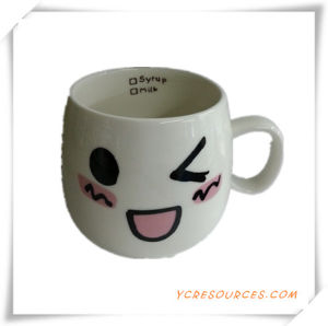 Smile Face Environmental Ceramic Cup pictures & photos