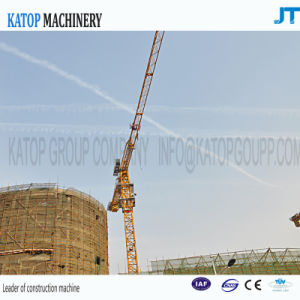 Katop Brand 6T Load PT5610 High Configurate Tower Crane for Export pictures & photos