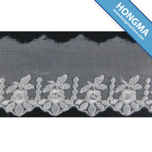 Good Quality Mesh Elegant Organza Lace (1607-0007) pictures & photos