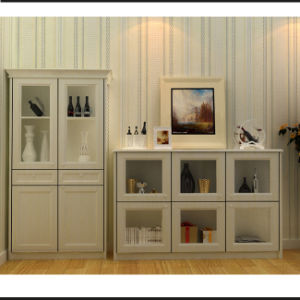 Modern White PVC Pantry Cabinet (FY034) pictures & photos
