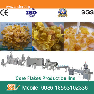 Automatic Crispy Kellogg′s Corn Flakes Extruder pictures & photos