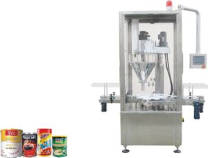 Fully Automatic Rotary Single Head Screw Filling Machine for Powder pictures & photos