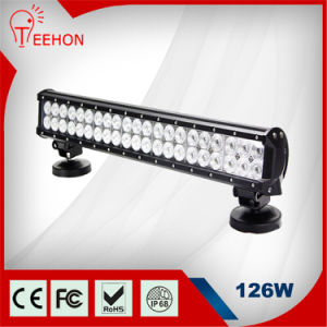 Hot Selling 20 Inch 12V 126W LED Flood Light Bar LED Light Bar on Truck pictures & photos