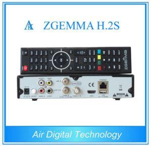 Satellite Decoder Zgemma H. 2s Dual Core Linux OS Enigma2 DVB-2xs2 pictures & photos