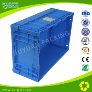 Stackable Mesh Moving Plastic Fruit Crate pictures & photos