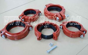 FM/UL Approved High Pressure Grooved Coupling with Good Price