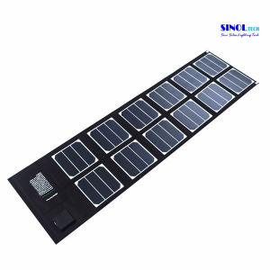 40W Multifunctional Foldable Solar Charger with Dual USB and 18V DC Output for Laptop, Mobile Phone Charging (FSC-40A) pictures & photos