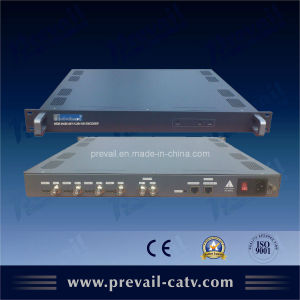 CATV 4 in 1 H. 264 HD Encoder with IP Output (WDE-H420) pictures & photos
